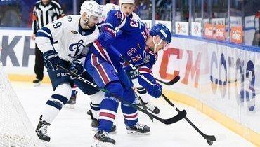 СКА проиграл «Динамо» впервом матче полуфинальной серии Запада.