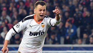 Черышев вернулся ктренировкам с «Валенсией» спустя 2 месяца