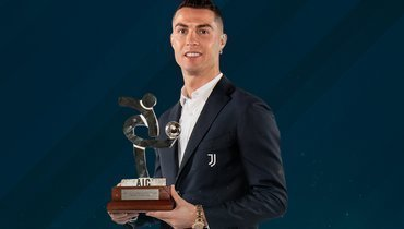Роналду и «Аталанта» названы игроком икомандой сезона-2019/20 вИталии