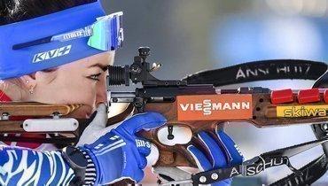 «Получила нето, начто рассчитывала». Российская биатлонистка брутально подвела итог сезона