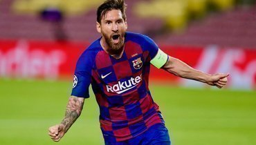 Месси установил рекорд «Барселоны» почислу матчей