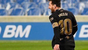 «Барселона» разгромила «Реал Сосьедад», забив шесть голов. Месси оформил дубль