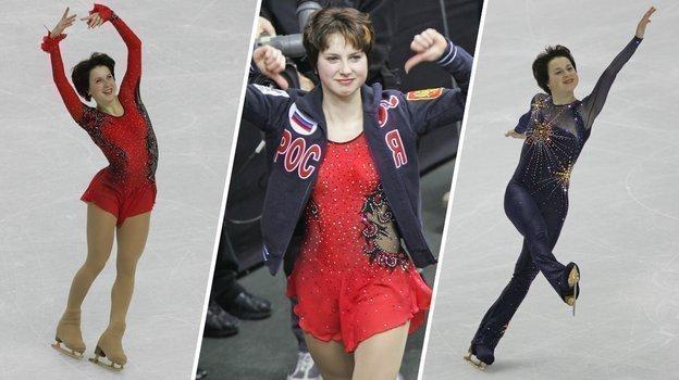 2006 год. Ирина Слуцкая на Олимпиаде в Турине. Фото Александр Вильф, -