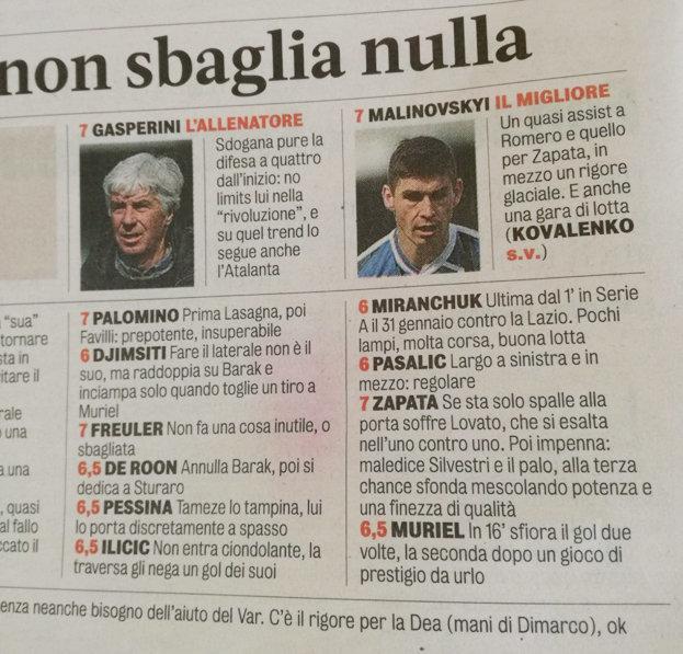 Миранчук против «Вероны»: самые низкие оценки в «Аталанте»