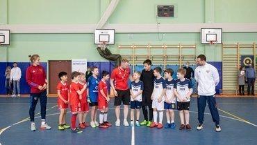 Дмитрий Сычев принял участие воВсероссийском фестивале «Футбол вшколе»