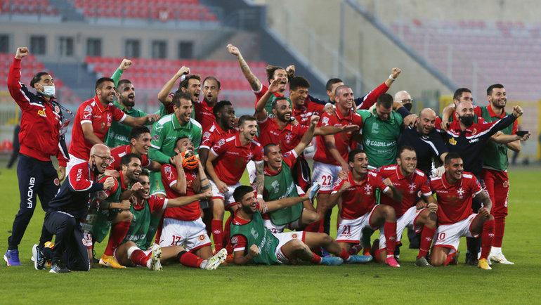 Футболисты сборной Мальты. Фото Reuters