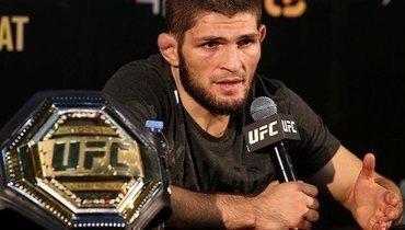 Хабиба Нурмагомедова исключили извсех рейтингов UFC