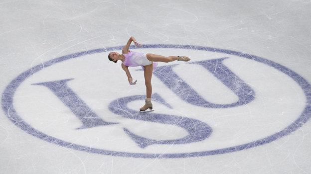 24марта. Стокгольм. Александра Трусова. Фото AFP