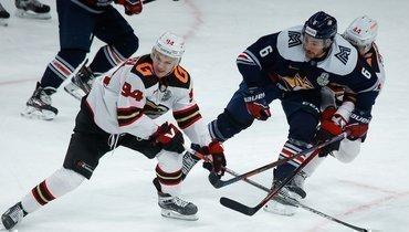 «Металлург» разгромил «Авангард» вчетвертом матче серии плей-офф.