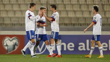 Соболев назвал непростым матч против Мальты