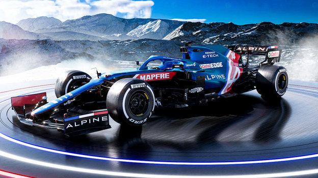 Лазурный «Альпин» или триколор Мазепина? Самые красивые болиды Формулы-1
