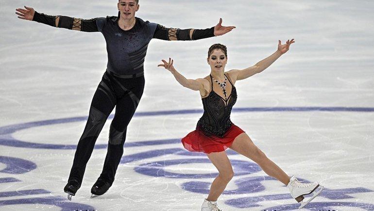 Анастасия Мишина иАлександр Галлямов. Фото Reuters