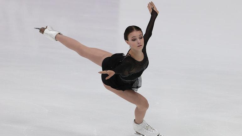Щербакова упала три раза, Трусова— один, Туктамышева ушла насвоей музыке. Странная тренировка перед решающей битвой наЧМ