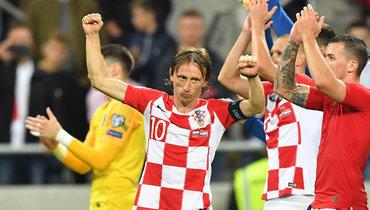 Модрич стал рекордсменом поколичеству матчей засборную Хорватии
