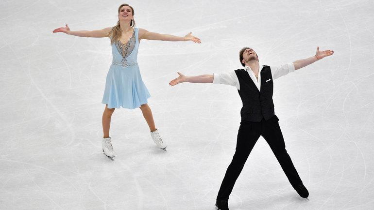 Виктория Синицина иНикита Кацалапов. Фото Reuters