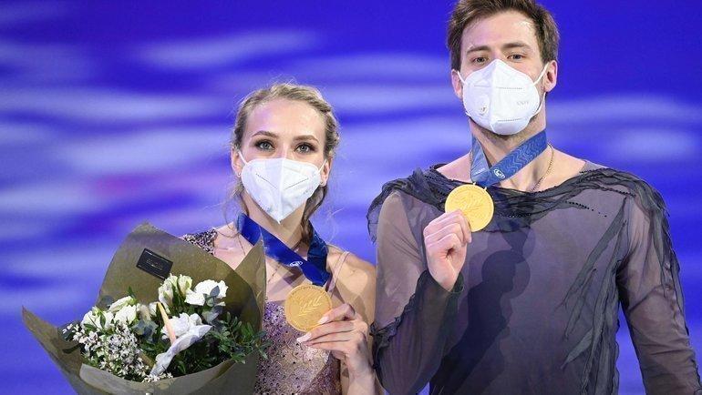 Россия выиграла «золото» втанцах впервые за12 лет. Синицина иКацалапов— лучшие вмире!