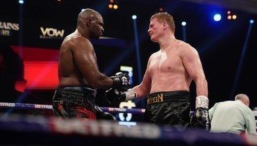 Уайт: «Жаль, что янезакончил бой сПоветкиным впервом раунде»