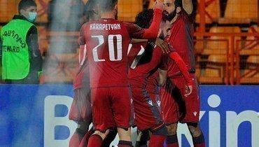 Армения сенсационно обыграла Исландию, Байрамян забил