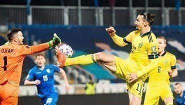 Швеция разгромила Косово, Ибрагимович отдал голевой пас вовторой игре подряд