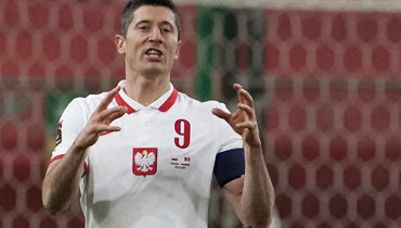 Левандовски забивает вдесятой игре подряд. Унего 47 мячей в43 матчах сезона