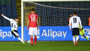 Италия обыграла Болгарию вотборе ЧМ-2022