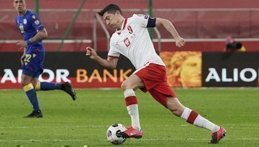 Польша насвоем поле победила Андорру, Левандовски сделал дубль