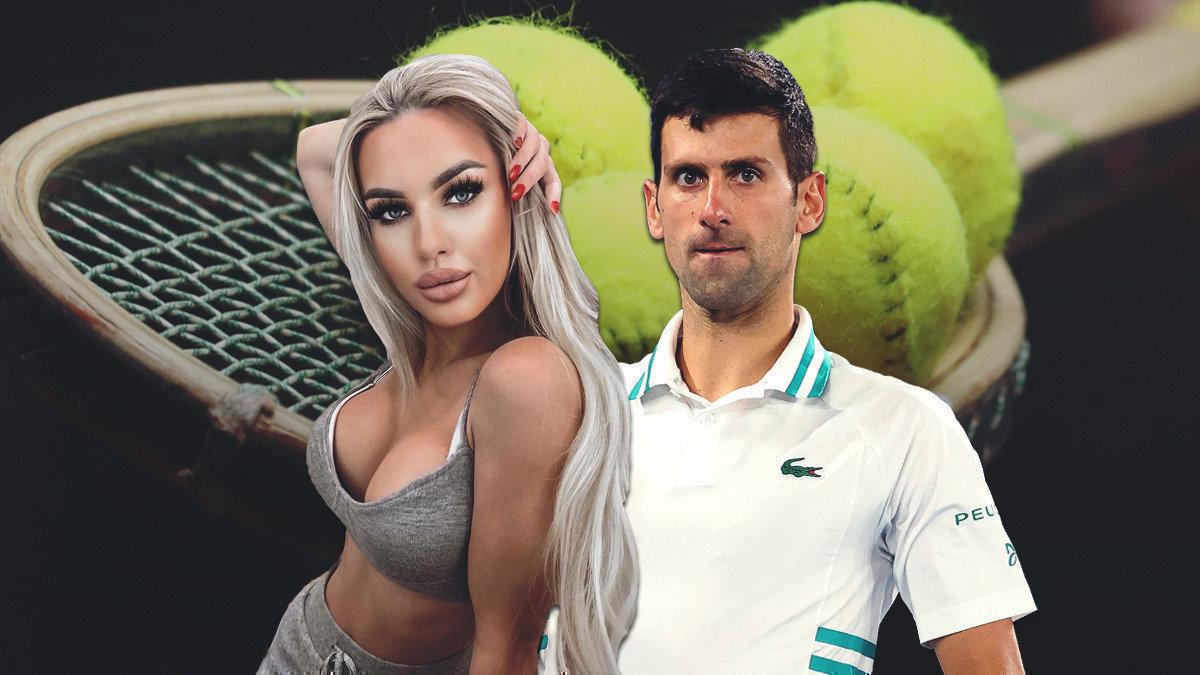 Модель раскрыла заговор против Джоковича. Ейпредлагали заденьги соблазнить звезду тенниса