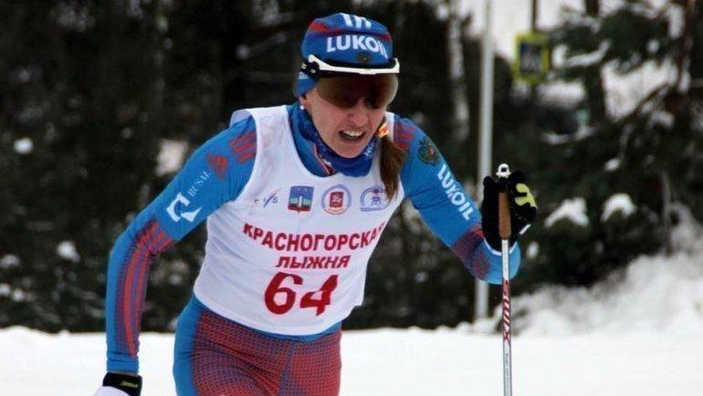 Ольга Рочева— победительница «Красногорской лыжни» 2016 года. Фото Федерация лыжних гонок России