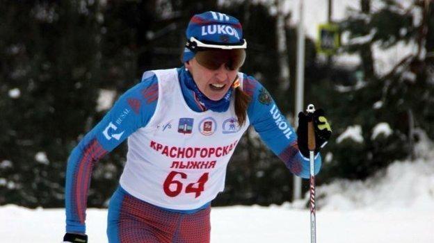 Ольга Рочева — победительница «Красногорской лыжни» 2016 года. Фото Федерация лыжних гонок России