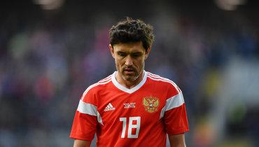 Жирков вышел начистое четвертое место поколичеству матчей засборную России