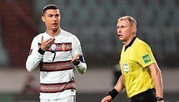 Роналду получил внос наглазах российского арбитра изабил 103-й гол засборную, Бельгия уничтожила Белоруссию
