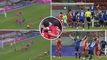 Нелепый гол вворота России: Марио иДжикия обнимались, пока словак забивал