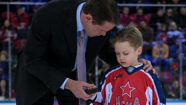 Павел Буре рассказал освоем сыне Пал Палыче, форварде детской команды ЦСКА