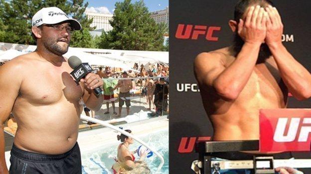 Чемпион UFC в 77 кг Джонни Хендрикс.