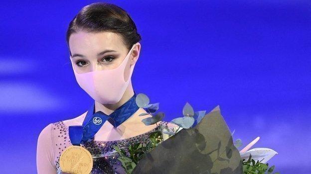 Чемпионка мира Анна Щербакова. Фото AFP