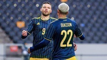 Гол Берга принес Швеции победу над Эстонией втоварищеском матче