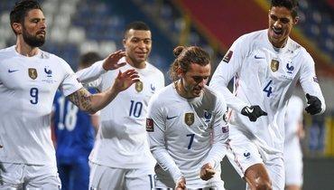 Франция обыграла Боснию, Украина иКазахстан сыграли вничью