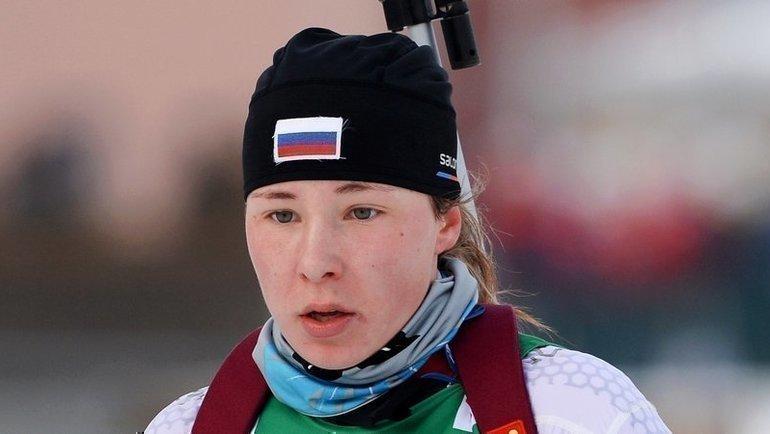 Наталья Ушкина. Фото СБР, biathlonrus.com