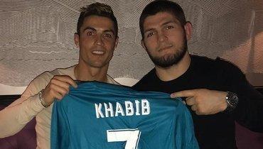 Хабиб назвал Криштиану Роналду лучшим футболистом в истории