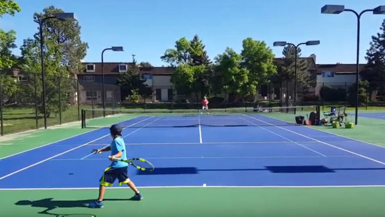 Теодор Давыдов— будущее тенниса?