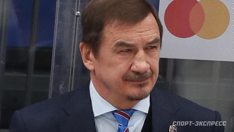 2апреля 2021 года. ЦСКА— СКА— 3:0. Главный тренер СКА Валерий Брагин.