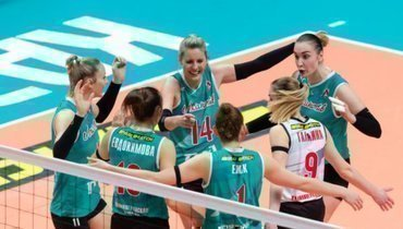 Волейболистки «Локомотива» впервые стали чемпионами России