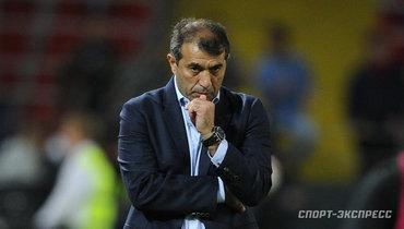 Рахимов заявил оготовности уйти споста главного тренера «Уфы»