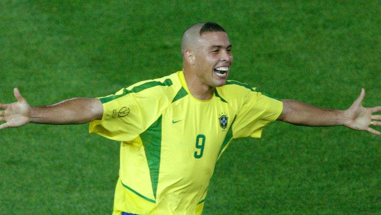 Роналдо на ЧМ-2002. Фото Reuters