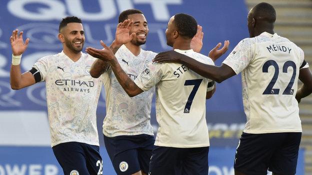 Футболисты «Манчестер Сити». Фото Reuters