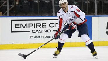 Овечкин сравнялся сХаллом поколичеству голов вбольшинстве вистории НХЛ