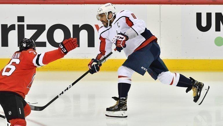 4апреля. «Нью-Джерси»— «Вашингтон»— 4:5. Фото USA Today Sports