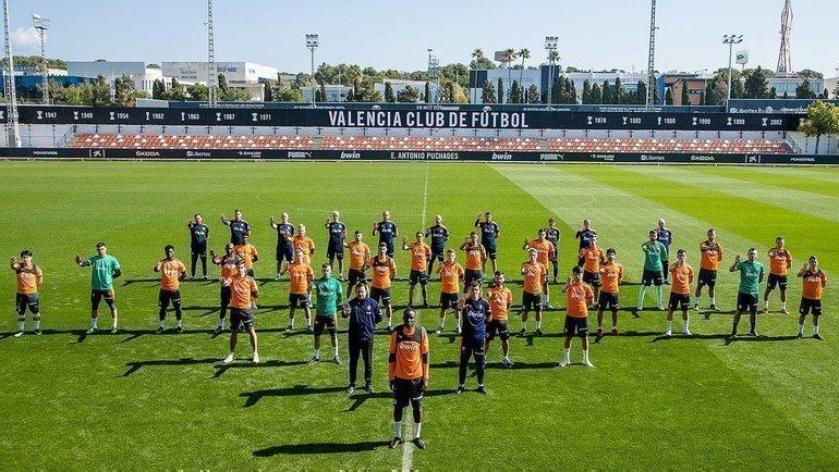 Акция «Валенсии» вподдержку Диакаби. Фото ФК «Валенсия».