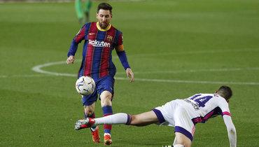 5апреля. Барселона. «Барселона»— «Вальядолид»— 1:0. Лионель Месси вигре.