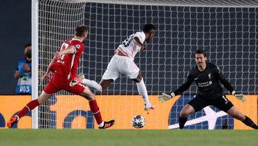 Дубль Винисиуса принес «Реалу» победу над «Ливерпулем» впервом матче 1/4 финала Лиги чемпионов